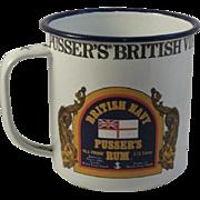 Pusser's Rum Large Graniteware Drinking Mug