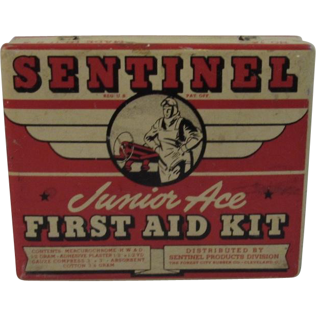 Sentinel Junior Ace First Aid Kit