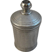 Loren Hancock Wilton Pewter Queen Anne Tea Caddy Container