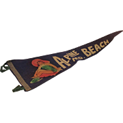Vintage Pennant Alpine Beach Maryland