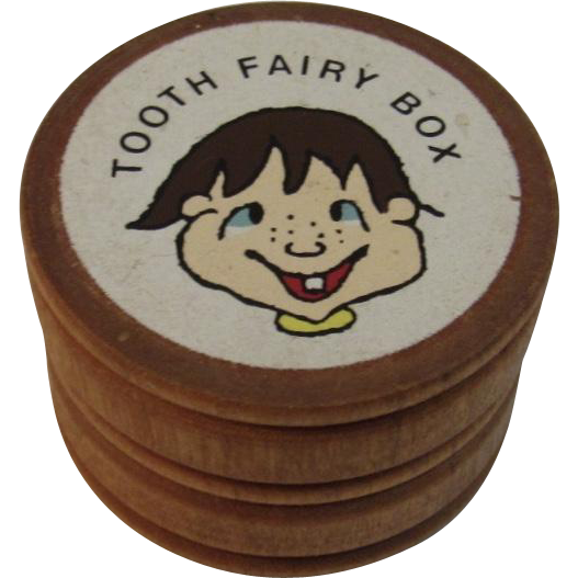 Turned Wood Tooth Fairy Box