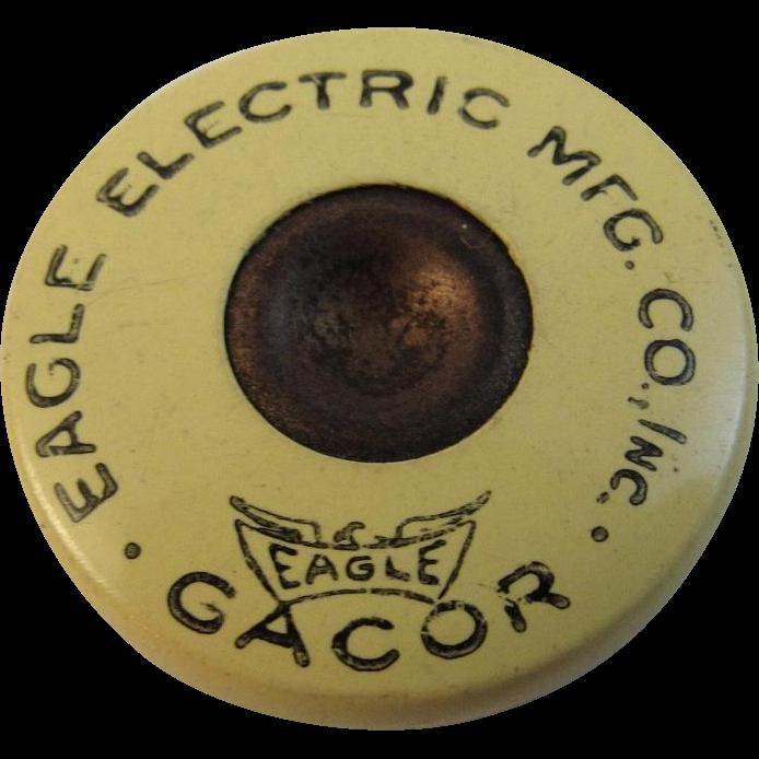 Eagle Electric MFG Co Diamond Flasher Button Patented Beacon Type