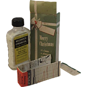 Wildroot Cream-Oil Hair Tonic in Merry Christmas Box