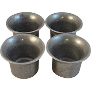 Wilton Pewter Plough Tavern Sauce Cups Tableware