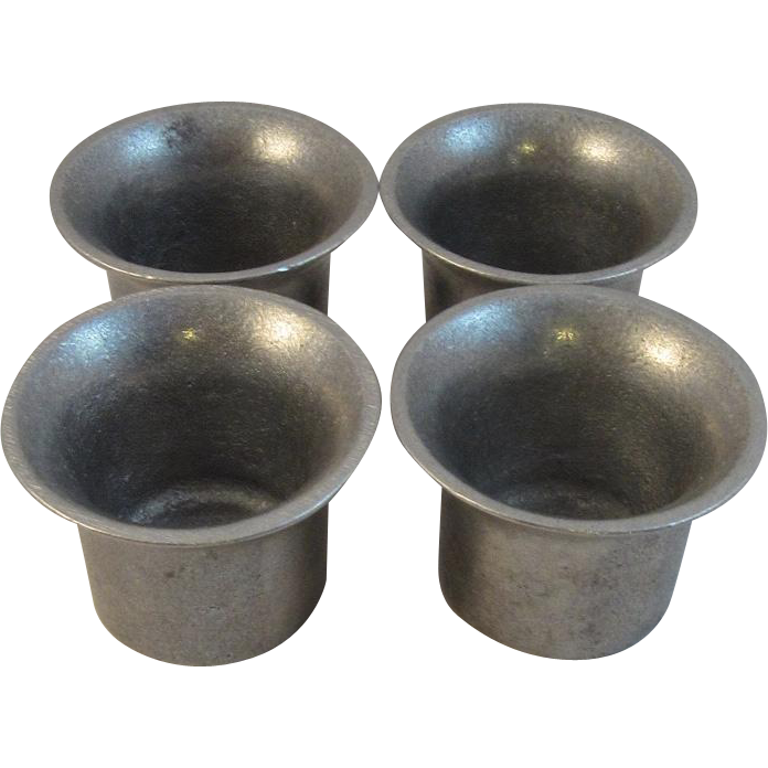 Wilton Pewter Plough Tavern Sauce Cups