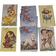 Vintage Miniature Gift Cards