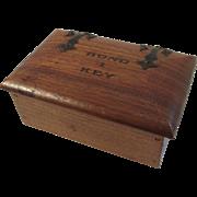 Walnut Nautical Box Bond & Key