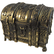 Brass Treasure Chest Cedar Lined