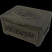 Jennings Brothers Bronze Repousse Renaissance Revival Casey Box