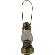 Brass Skaters Lantern Skating Lamp