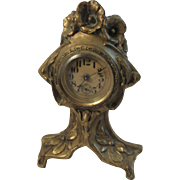 Art Nouveau Mantle Clock.