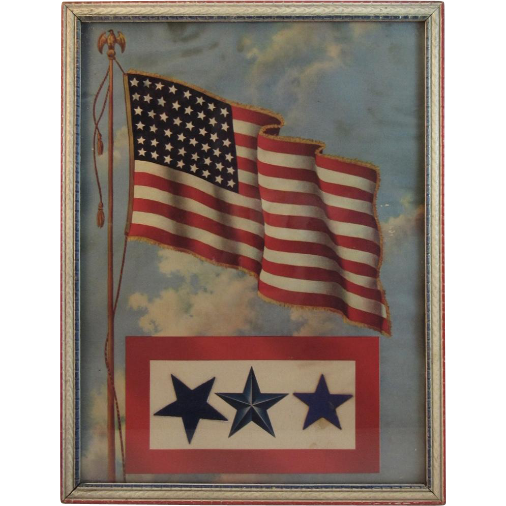 Wwii Blue Star Mother S Service Flag Picture Patriotic