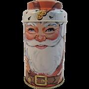 Daher Cap-Tins Santa Tin Christmas