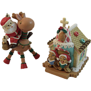 2 Humorous Matrix Industries Christmas Ornaments