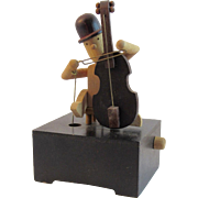 Automaton Cellist Music Box by Otagiri Plays Yesterday