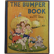 1946 The Bumper Book Illustrated in Color by Eulalie
