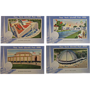 1939 New York World's Fair Postcards by Miller Art Co