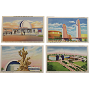 1939 New York World's Fair Postcards