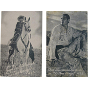 Lone Ranger and Tonto Photo Cards