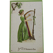 St Patrick's Day Postcard