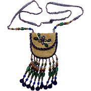 Native American Beaded Purse