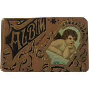 c1890s Victorian German Autograph Album Book