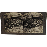 WWI Stereoview German Dead in the La Basse Area