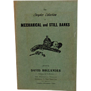 1955 The Chrysler Collection of Mechanical and Still Banks Catalogue Book