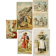 5 Farm Advertising Trade Cards