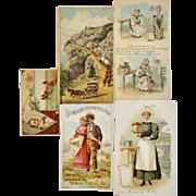 5 Farm Advertising Trade Cards