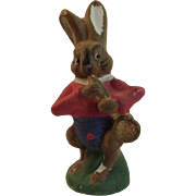 German Papier Mache Easter Bunny Candy Container