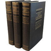 Lee's Lieutenants 3 Vol Set Civil War Books