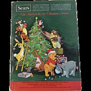 1972 Sears Christmas Wish Book Catalog Winnie the Pooh