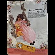 1973 Sears Christmas Wish Book Catalog Winnie the Pooh