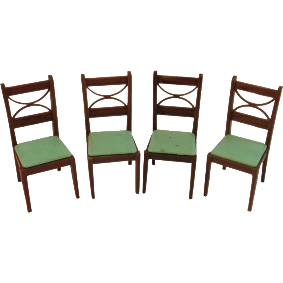 4 renwal dollhouse dining room chairs from ssmooreantiques for 4 dining room chairs