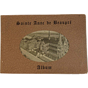 1930s Sainte Anne De Beaupre Basilica Album