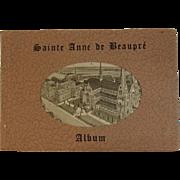 1930s Sainte Anne De Beaupre Basilica Album