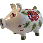 1950s Japan Ceramic Piggy Bank by Dee Bee Co