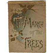1894 The March of the Trees Calendar Poetry Illustrated
