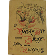 Clark's ONT Rock A Bye Baby and Other Rhymes Book