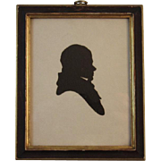 Vintage Silhouette of Sir Walter Scott