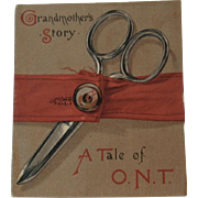 Grandmother's Story A Tale of O.N.T. Miniature Book by Clark's