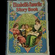 Victorian Children's Book Elizabeth's Favorite Story Book