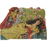 Lion Coffee Die Cut Paper Doll Sleeping Beauty
