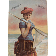 John P. Hier Cigars Advertising Trade Card Syracuse NY