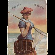 John P. Hier Cigars Advertising Trade Card Syracuse NY