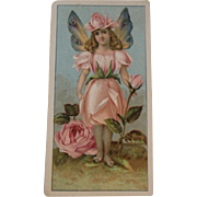 Victorian Fairy Trade Card Advertising for Newman's Soda and Purity Baking Powder