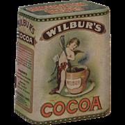 Wilbur's Cocoa Conservation Recipes Miniature Cookbook
