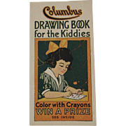 Columbus Oleomargarine Drawing Book for the Kiddies Advertising Booklet