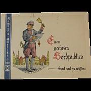1930s Hamburg Amerika Line Cruise Postcard Set And Dinner Invitation Nautical - Red Tag Sale Item